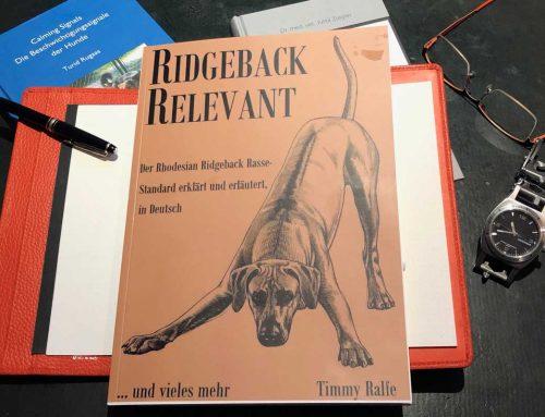 Ridgeback Relevant